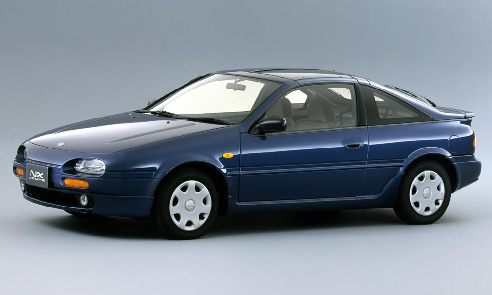 Perfect Blue Nissan 100NX