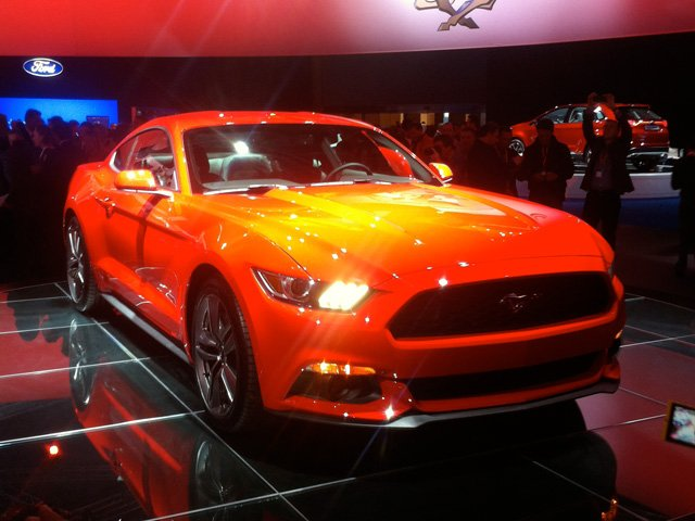 New Ford Mustang in Barcelona