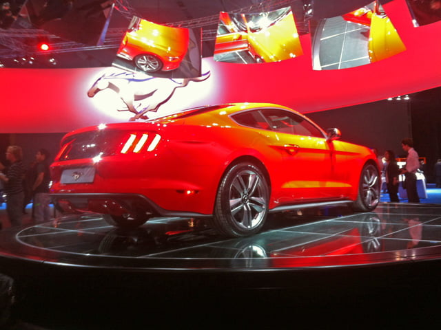 Rear of Ford Mustang at Go Further