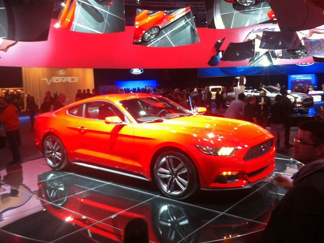 The all-new Ford Mustang in Europe
