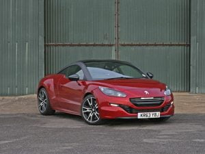 Peugeot RCZ R in Moroccan Red