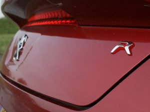 R badge on Peugeot RCZ R