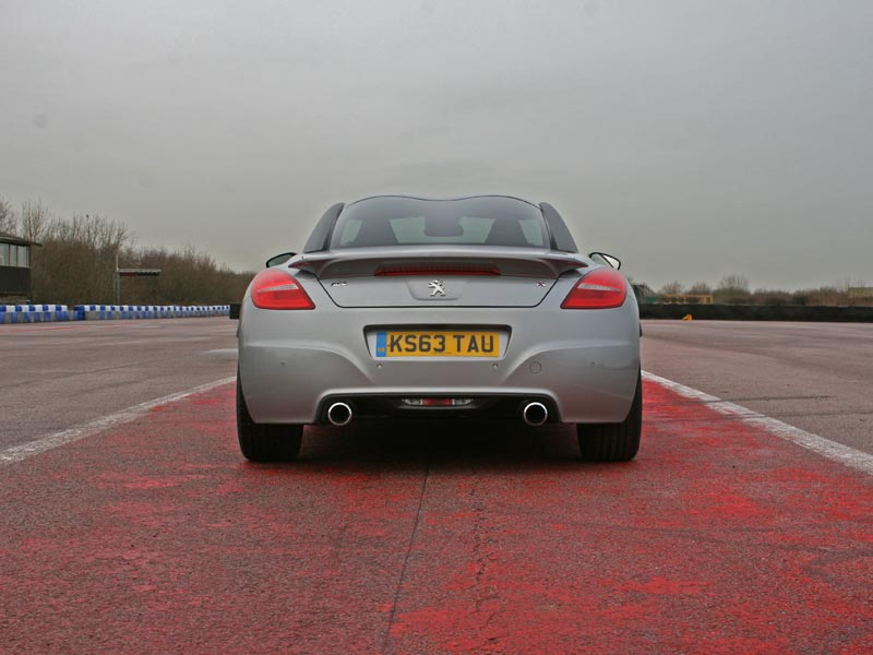 Rear of Peugeot RCZ R