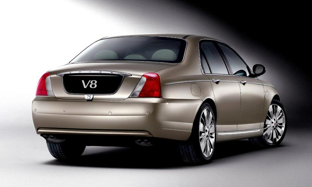 Rover 75 V8 on PetrolBlog