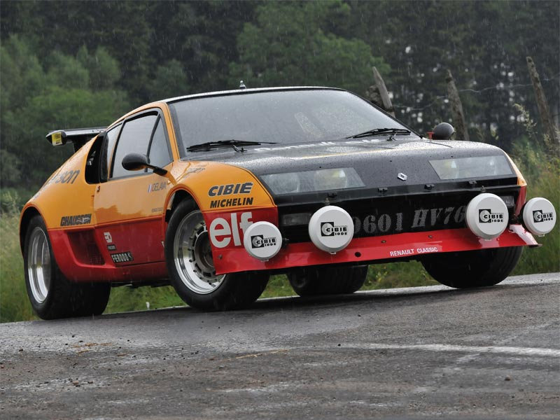 Rear-wheel drive Renaults - Alpine A310
