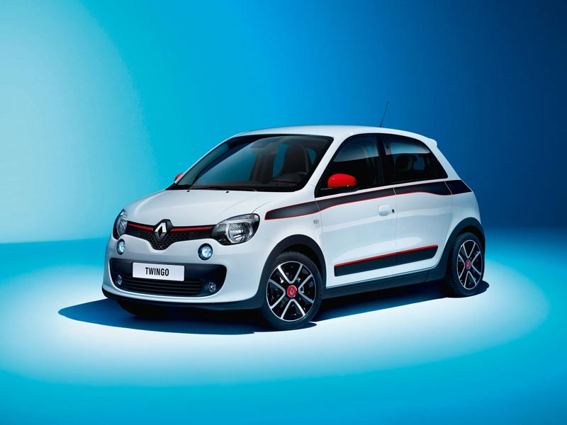 Rear-wheel drive Renaults - New Twingo