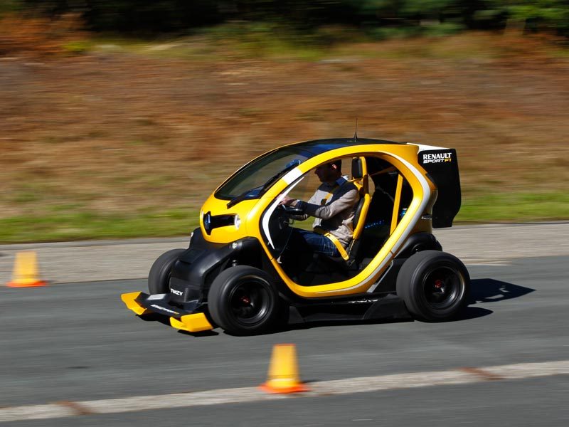 Rear-wheel drive Renaults - Twizy F1