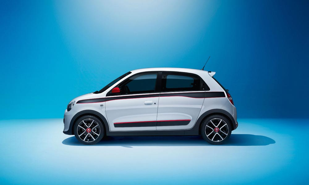 Reart-wheel drive Renaults - 2014 Twingo