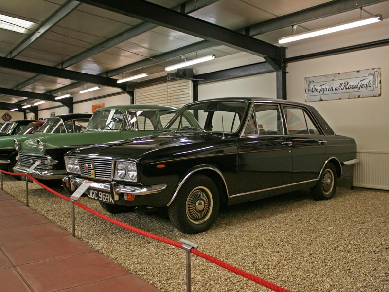 1971 Humber Sceptre at Haynes International Motor Museum