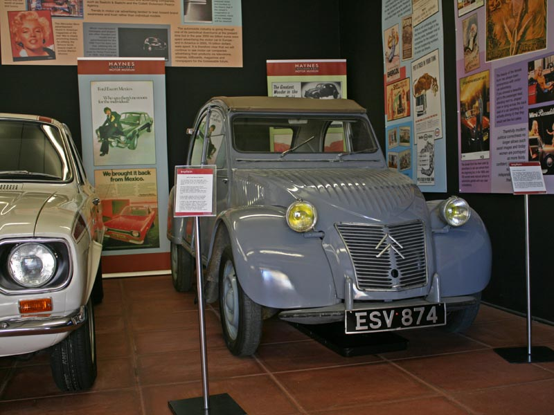 Citroen 2CV at Haynes International Motor Museum
