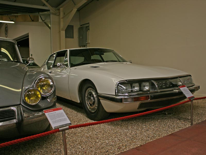 Citroen SM at Haynes International Motor Museum