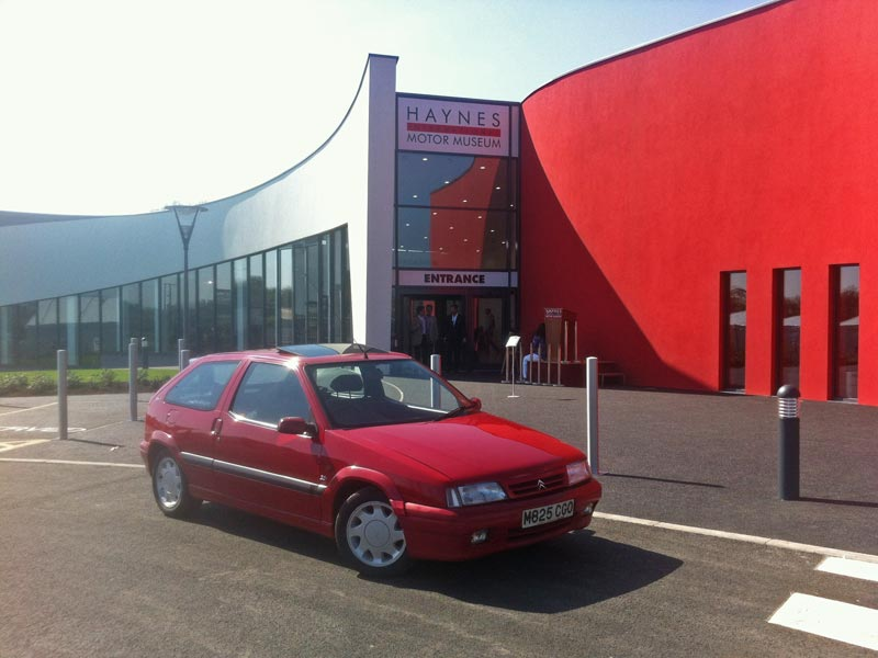 Citroen ZX 16v at Haynes International Motor Museum