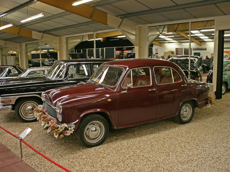 Hindustan Ambassador at Haynes International Motor Museum