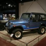 Jeep Wrangler Renegade at Haynes International Motor Museum