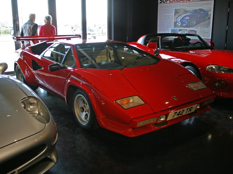 Lamborghini Countach at Haynes International Motor Museum