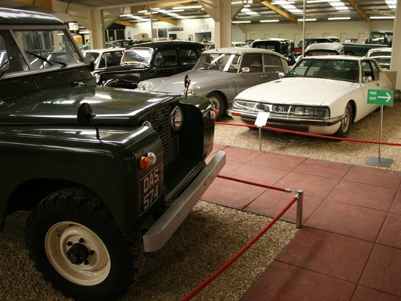 Land Rover and Citroens at Haynes International Motor Museum