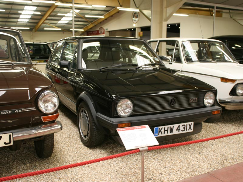 MK1 Volkswagen Golf GTi at Haynes International Motor Museum