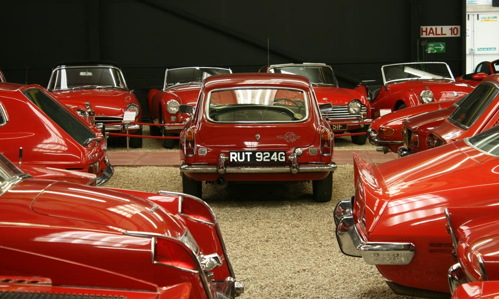 The new Haynes International Motor Museum Red Room