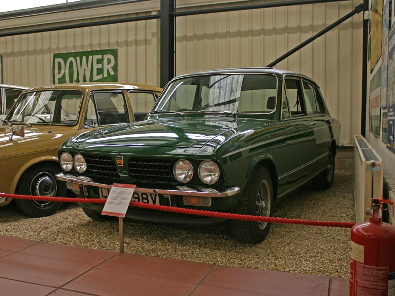 Triumph Dolomite Sprint at Haynes International Motor Museum