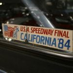 USA Speedway Final California 1984 sticker
