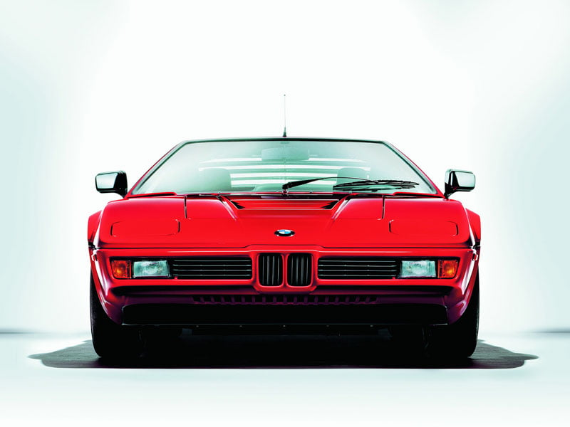 Single wiper BMW M1