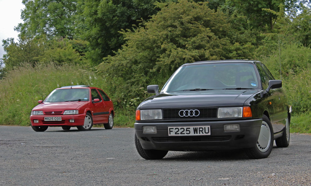 Chalk And Fromage Audi 80 Meets Citro 235 N Zx 16v Petrolblog