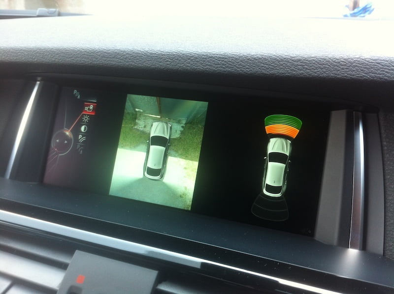 BMW X4 Surround-view camera
