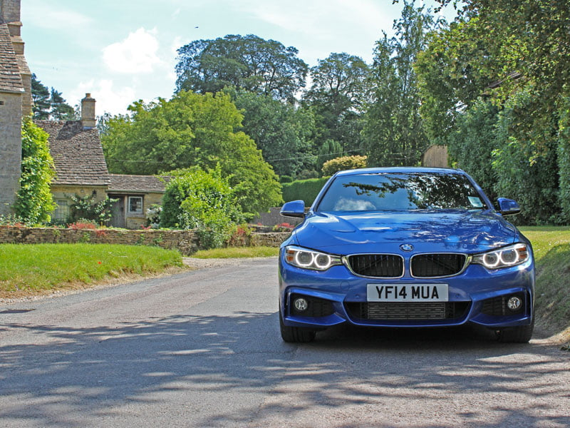 Front of BMW 4 Series Gran Coupe