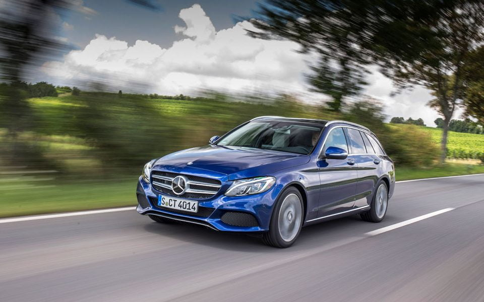 Mercedes-Benz C-Class Estate with AirMATIC