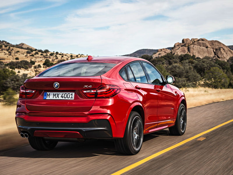 PetrolBlog LaunchBlog BMW X4 rear