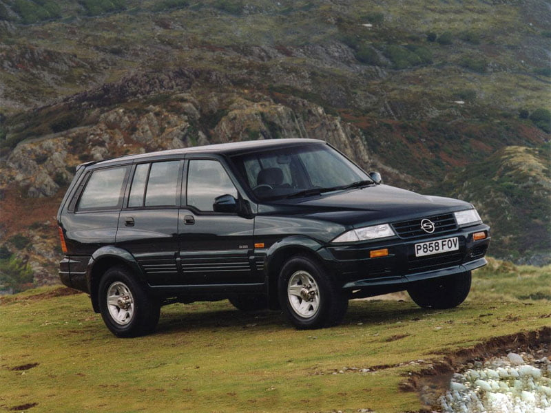 1997 SsangYong Musso GX220