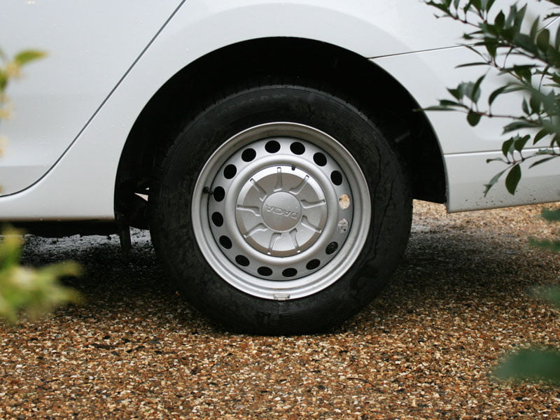 Dacia Logan MCV steel wheel