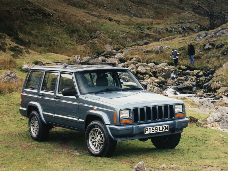 Dream Shed Jeep Cherokee 4.0