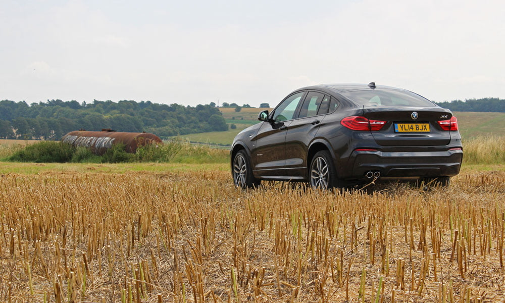 PetrolBlog review of BMW X4 xDrive 30d