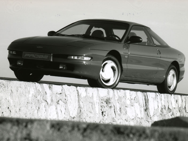 3-spoke alloys Ford Probe