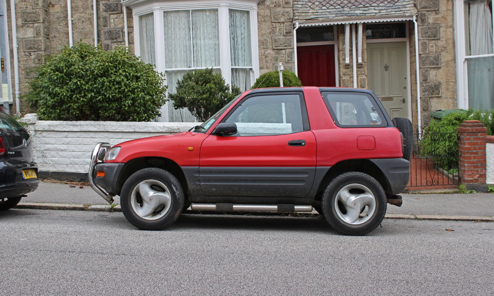 3 spoke alloys Toyota RAV4