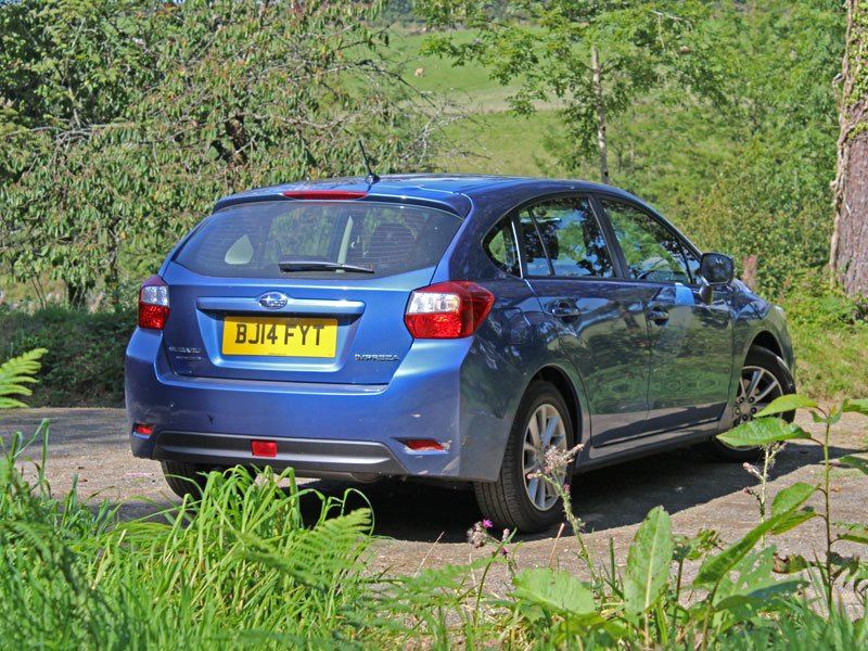 Subaru Impreza 1.6i RC road test
