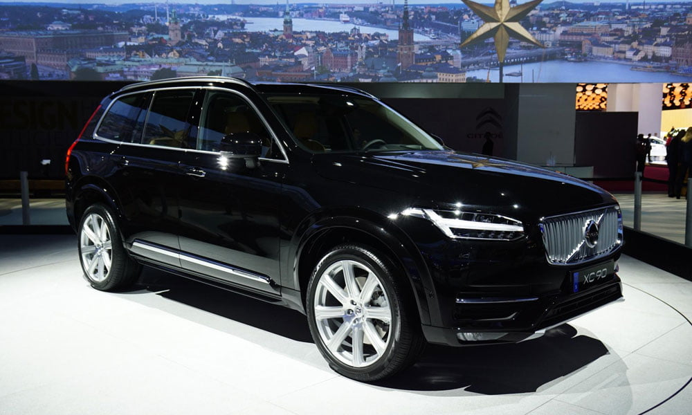 Volvo XC90 at 2014 Paris Motor Show