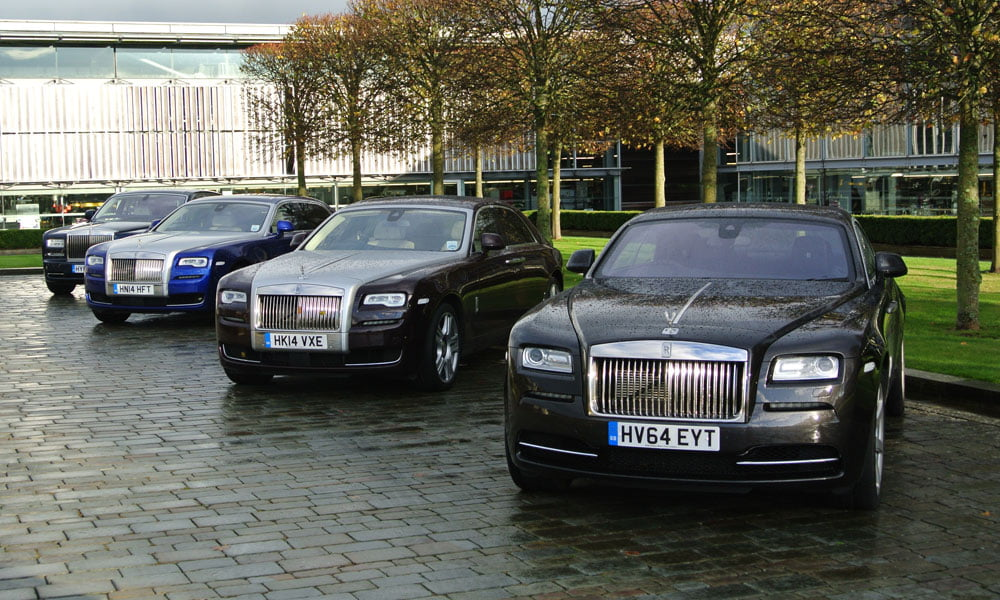 PetrolBlog drives some Rolls-Royces