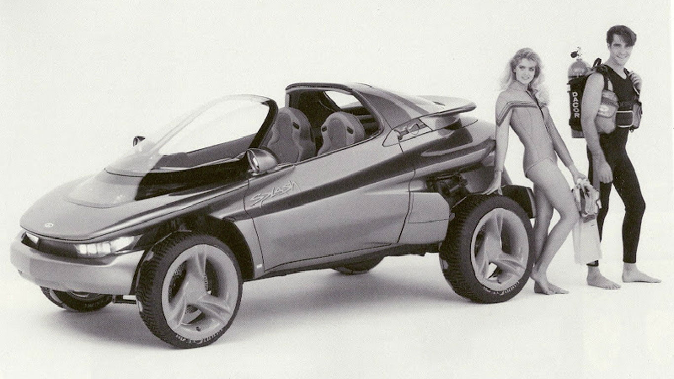1988 Ford Splash concept