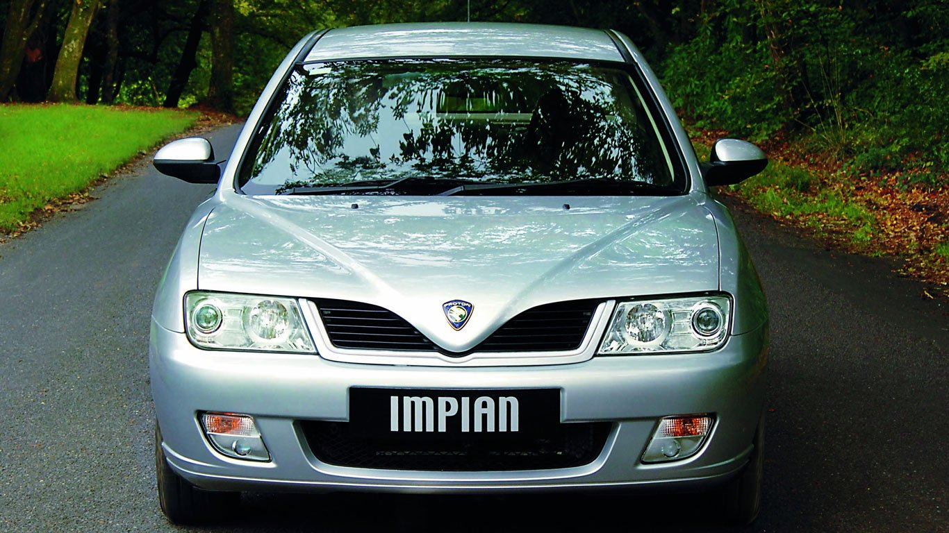 Front of late Proton Impian
