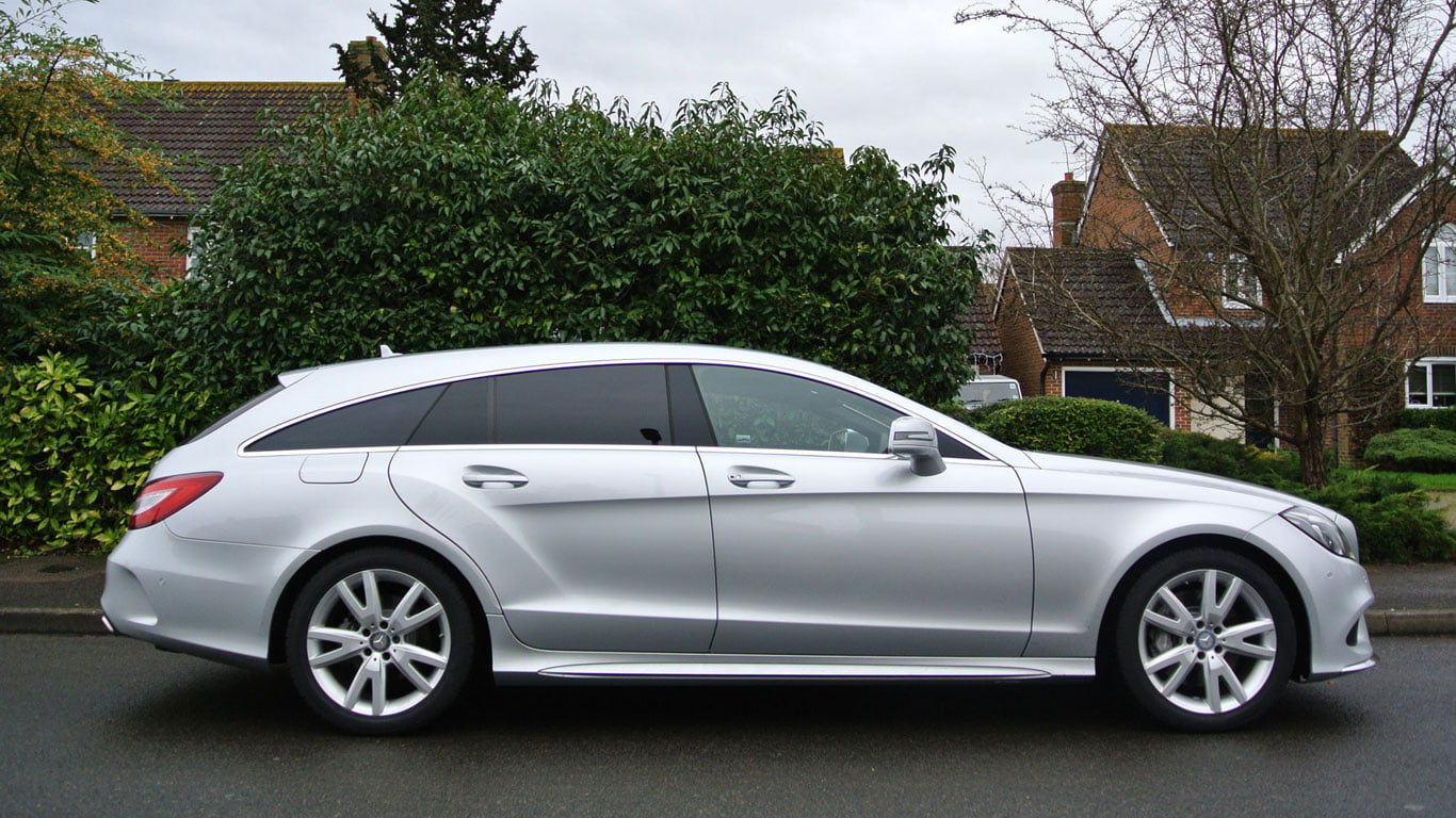 Mercedes-Benz CLS350 AMG side profile