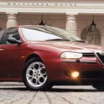 Alfa Romeo 156 on Teledial alloy wheels