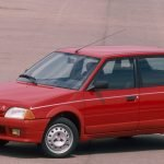 Citroen AX GT on steel wheels