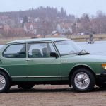 Saab 99 on Inca alloy wheels