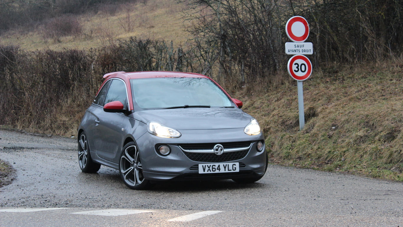 Vauxhall Adam Grand Slam in Forget About the Grey