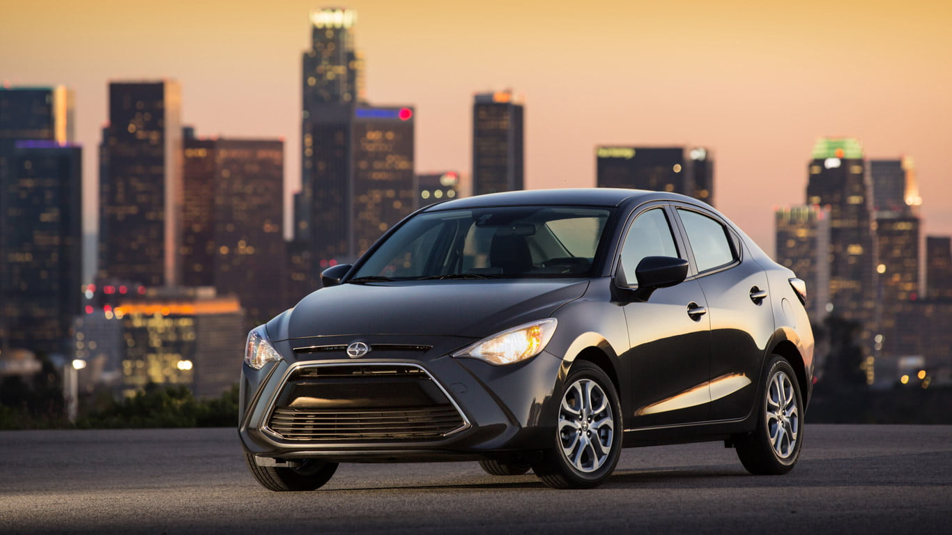2016 Scion iA Shatchback