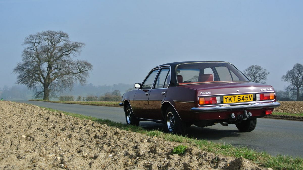 Rear of MK1 Vauxhall Cavalier