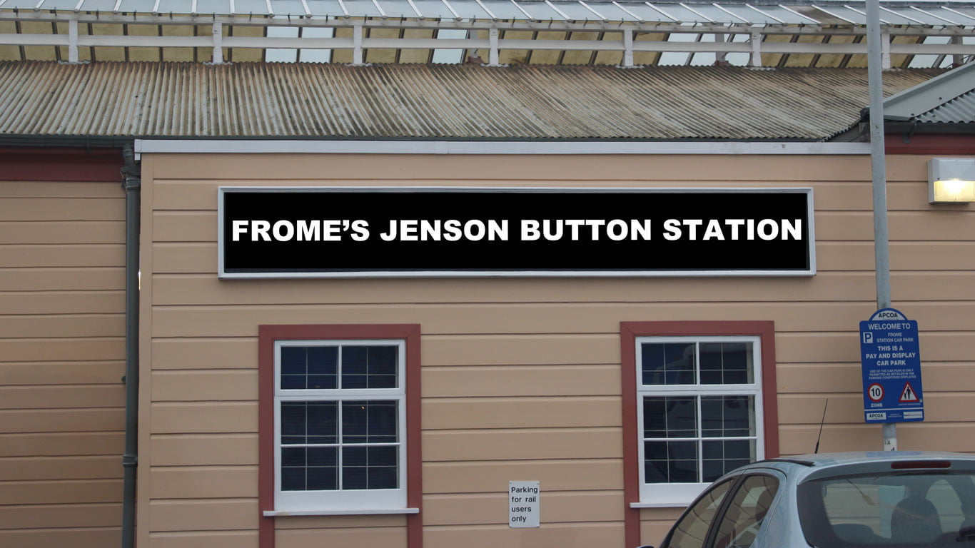 Frome's Jenson Button Station