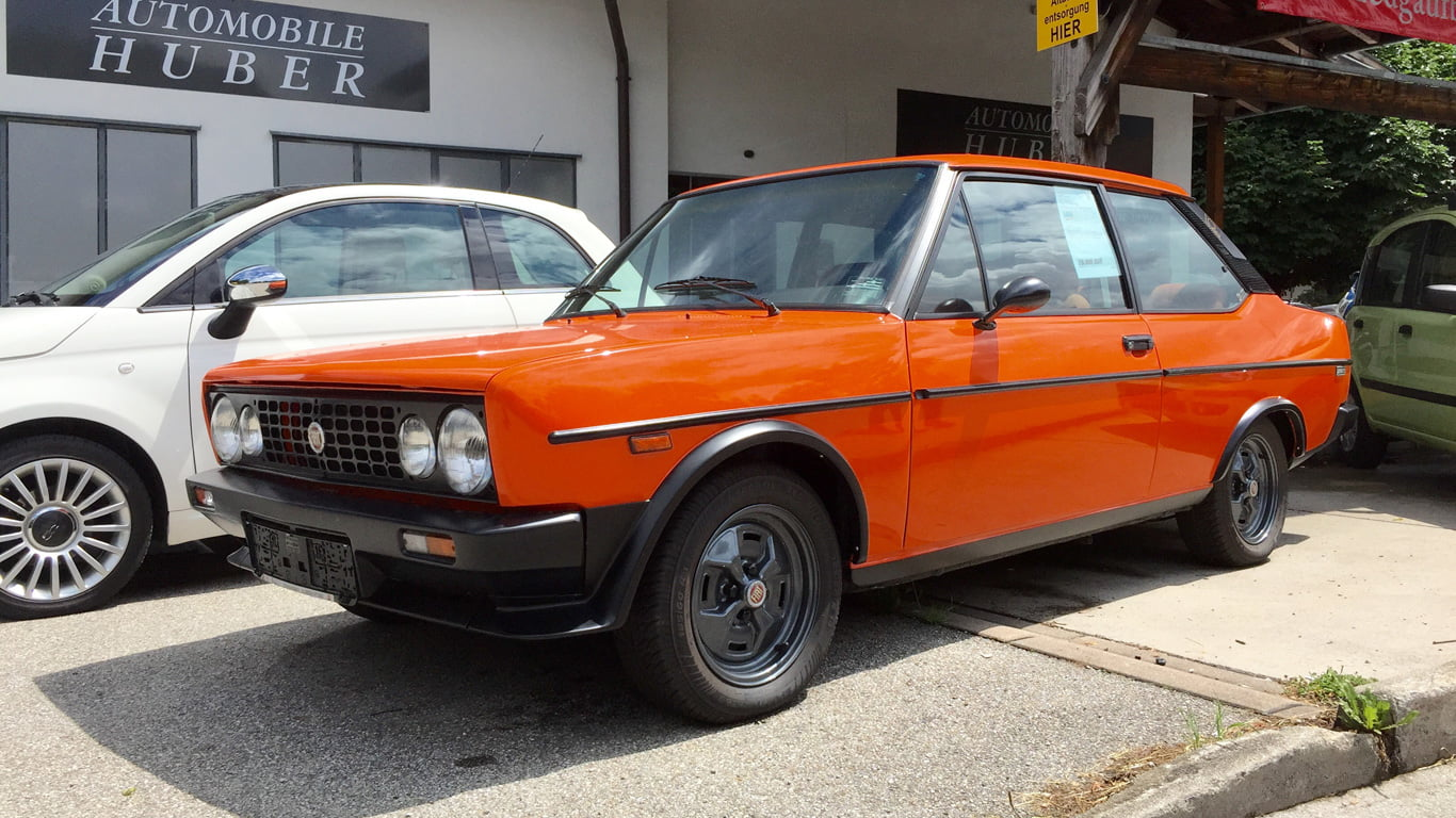 Orange crush: Fiat 131 Racing - PetrolBlog